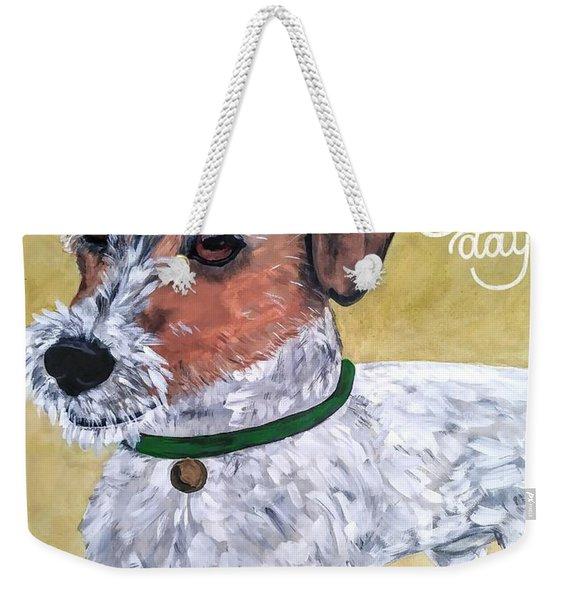 Mr. R. Terrier Weekender Tote Bag