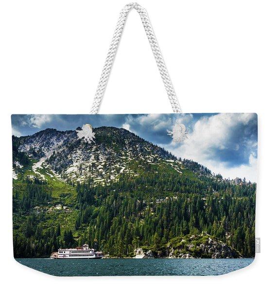 M.s. Dixie II, Lake Tahoe, Ca Weekender Tote Bag