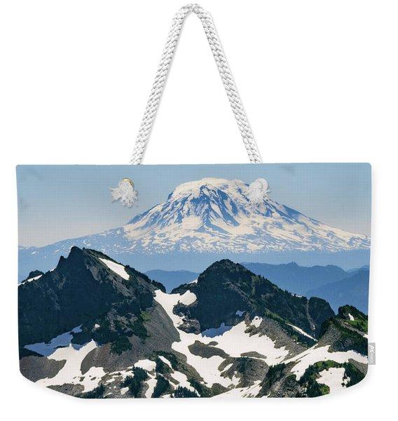 Mt Adams Weekender Tote Bag