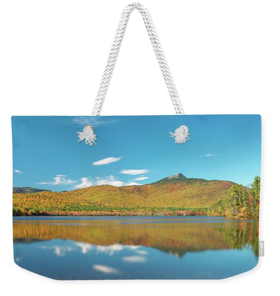 Mt Chocorua Panorama Weekender Tote Bag