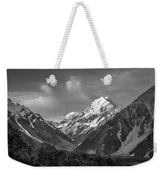 Mt Cook Wilderness Weekender Tote Bag