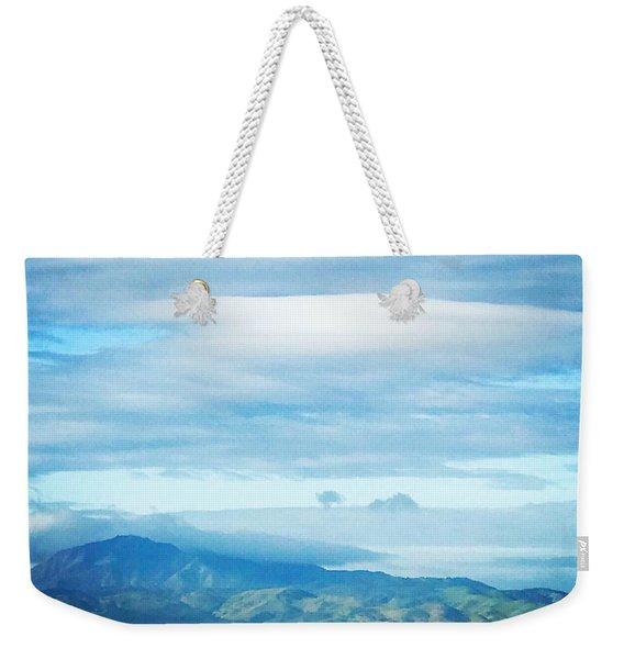 Mt Diablo California Weekender Tote Bag