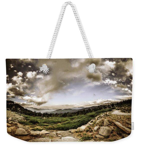 Mt. Evans Alpine Vista #2 Weekender Tote Bag
