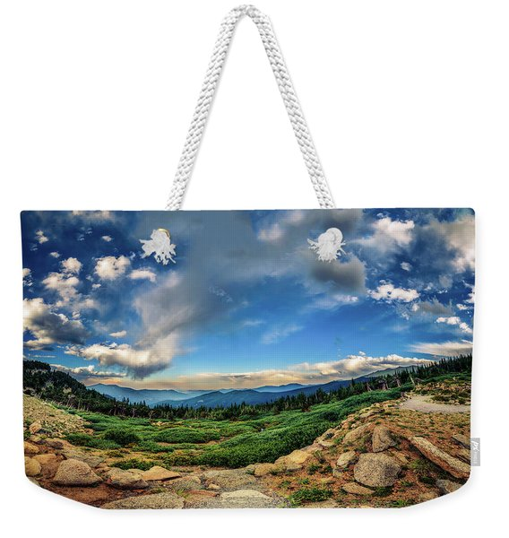 Mt. Evans Alpine Vista Weekender Tote Bag