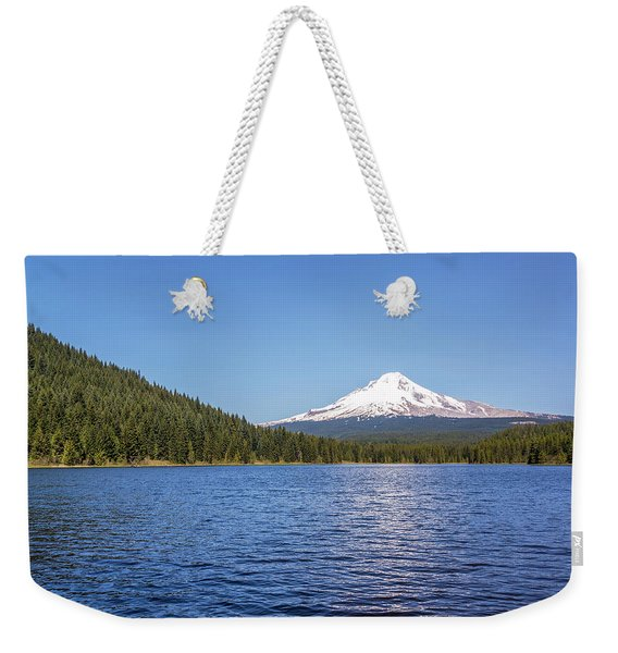 Mt. Hood And Trillium Lake Weekender Tote Bag
