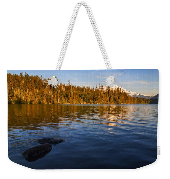 Mt Hood In Evening Light As Seen From Lost Lake Oregon Usa Weekender Tote Bag