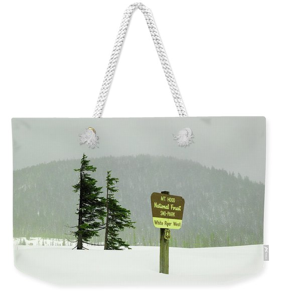 Mt Hood National Forest Weekender Tote Bag
