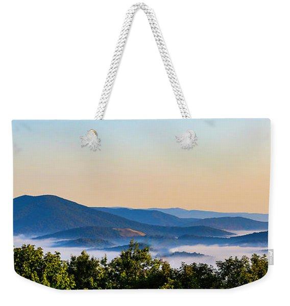 Mt. Jefferson Cloud Lake Weekender Tote Bag