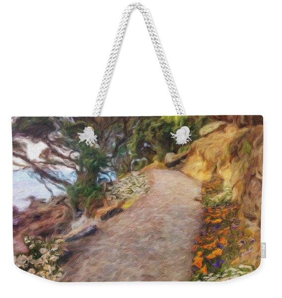 Mt. Maunganui Base Walk Weekender Tote Bag