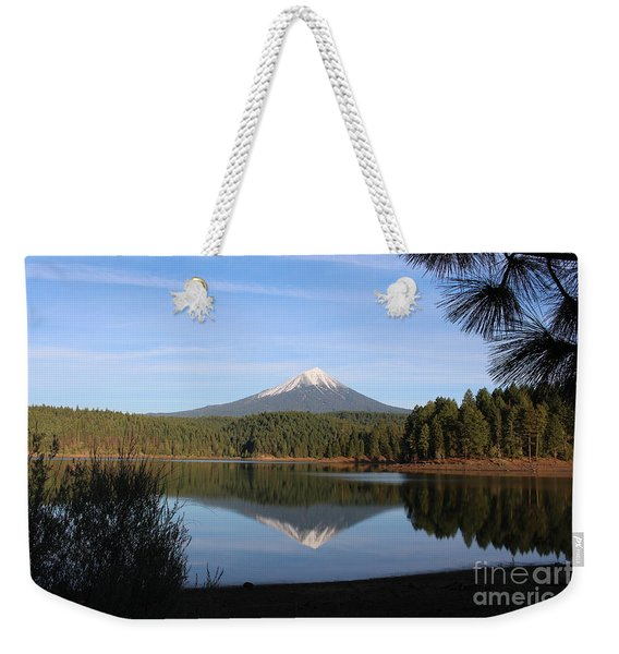 Mt Mclaughlin Or Pitt Weekender Tote Bag