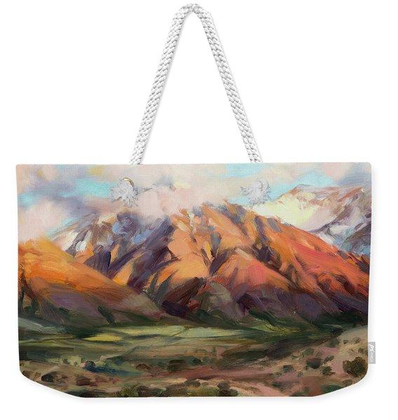 Mt Nebo Range Weekender Tote Bag