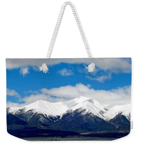Mt. Princeton Colorado Weekender Tote Bag