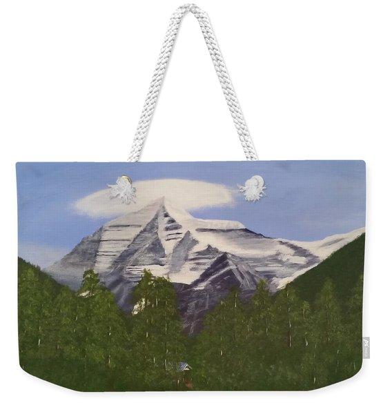 Mt. Robson, Bc Weekender Tote Bag