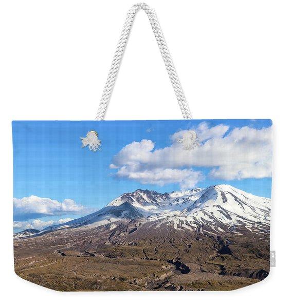 Mt Saint Helens Weekender Tote Bag