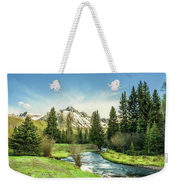 Mt. Sneffels Peak Weekender Tote Bag