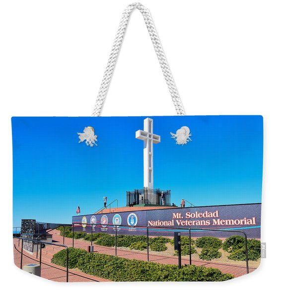 Mt. Soledad National Veterans Memorial Weekender Tote Bag