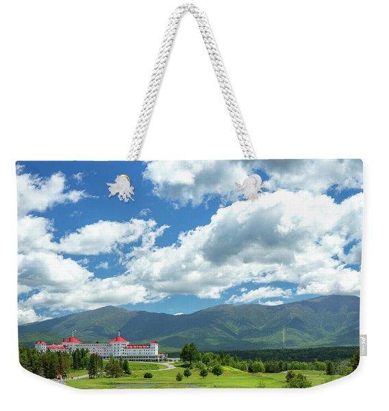 Mt Washington Hotel Weekender Tote Bag