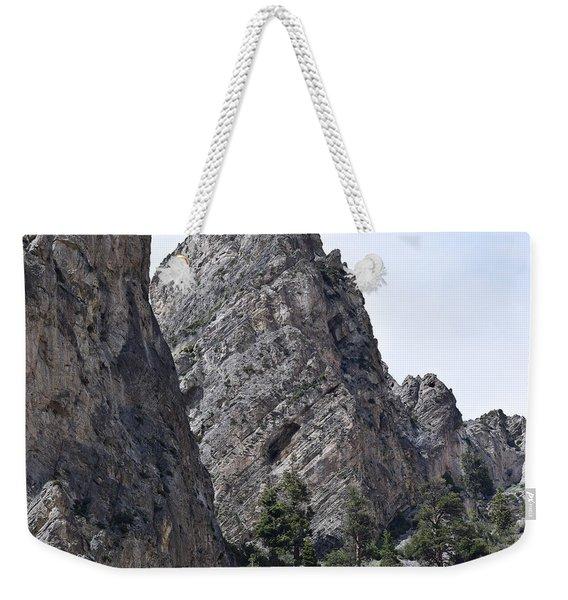 The Caves Of Mt. Charleston Weekender Tote Bag
