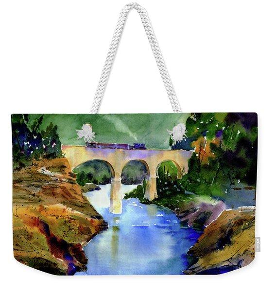 Mtn Quarries Rr Bridge Weekender Tote Bag