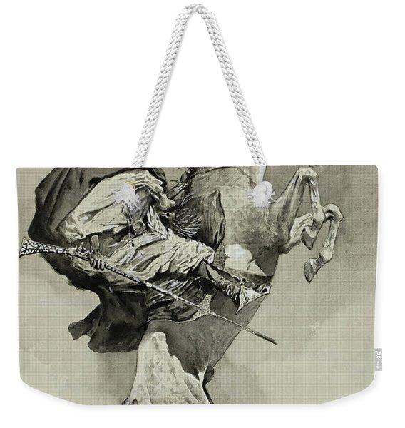 Mubarek The Arabian Chief Weekender Tote Bag