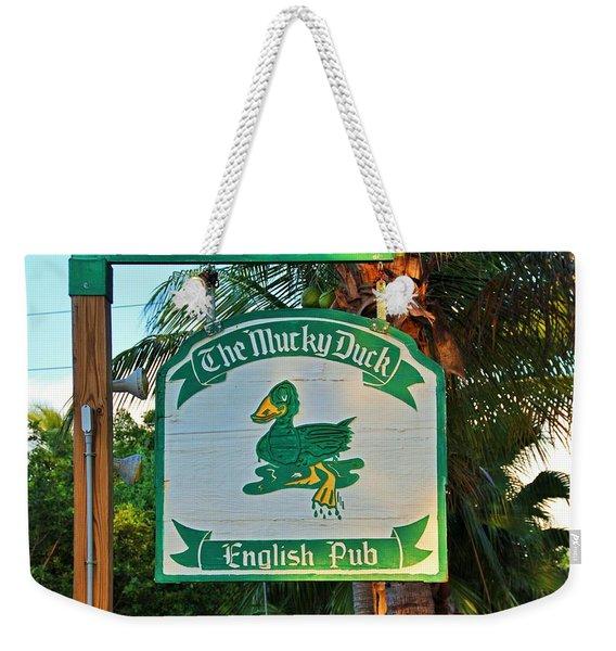 Mucky Duck I Weekender Tote Bag