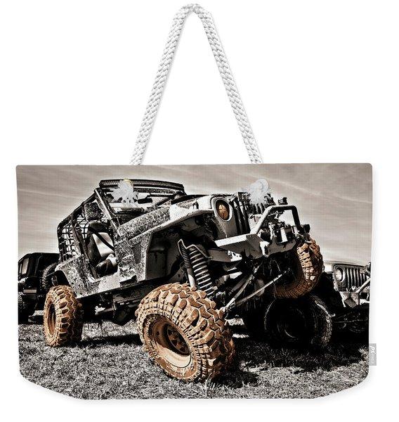 Muddy Super Swamper Tj Weekender Tote Bag