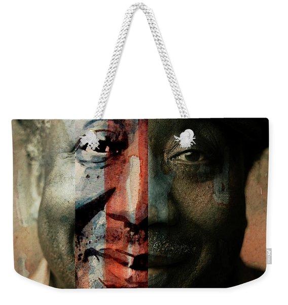 Muddy Waters - Mannish Boy  Weekender Tote Bag