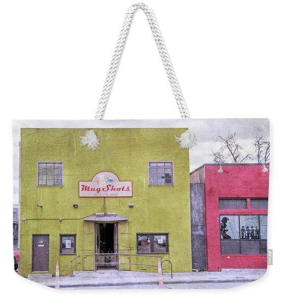 Mug Shots Austin Texas Weekender Tote Bag