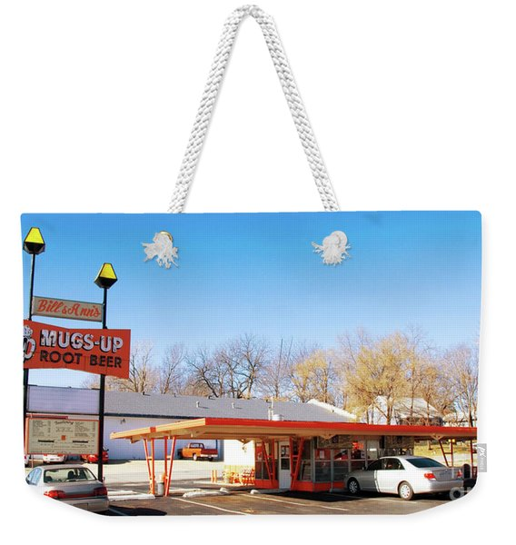 Mugs Up Root Beer Weekender Tote Bag