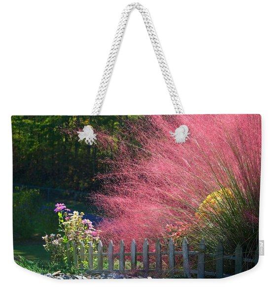 Muhly Grass Weekender Tote Bag