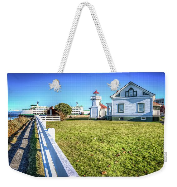 Mukilteo Landing Weekender Tote Bag