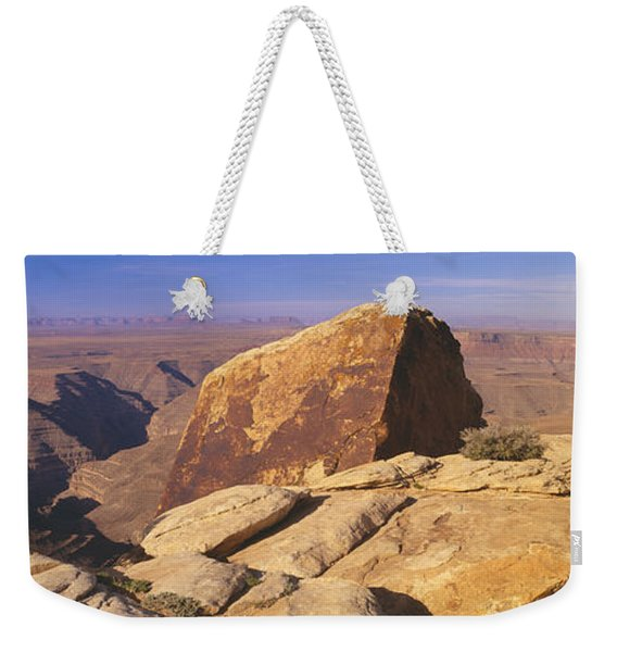 Muley Point Along Route 261 Weekender Tote Bag