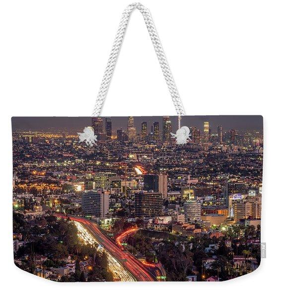 Mulholland Drive View #2 Weekender Tote Bag
