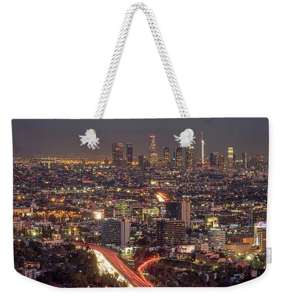 Mulholland Drive View Weekender Tote Bag