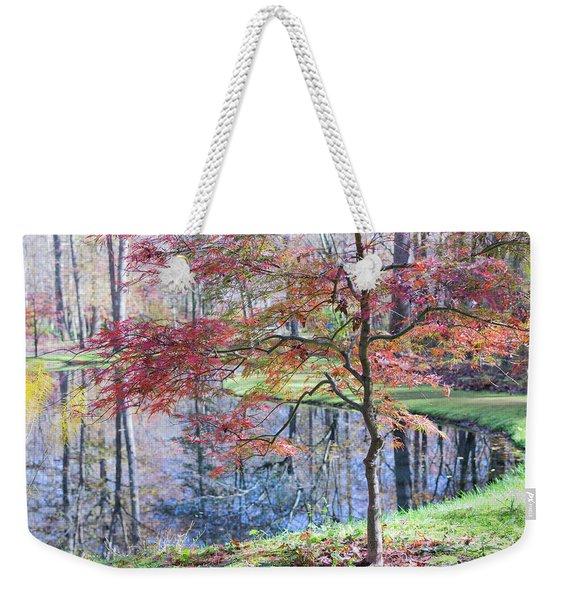 Multi Color Japanese Maple Weekender Tote Bag