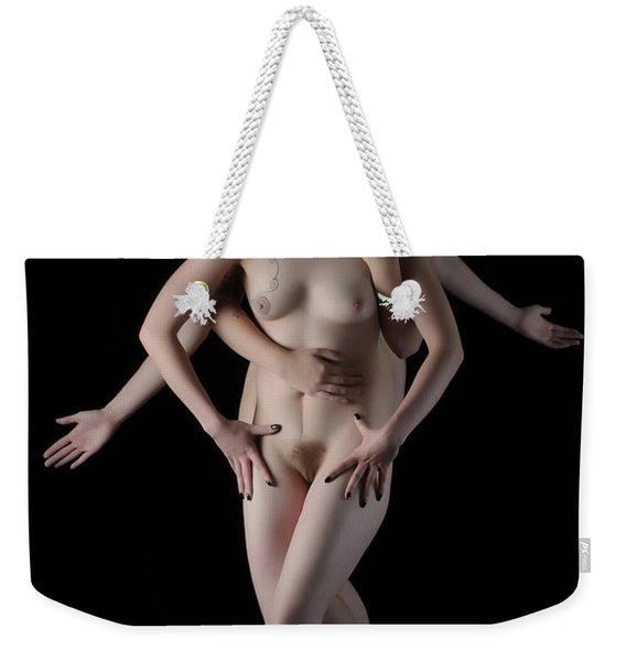 Multiple Personalities Weekender Tote Bag