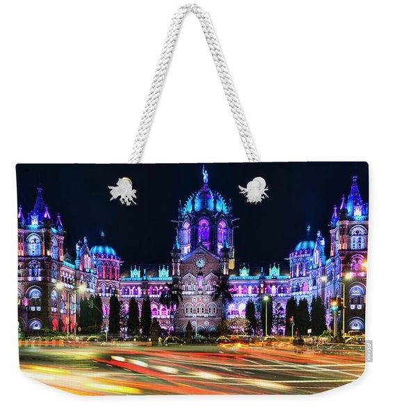 Mumbai Moment Weekender Tote Bag