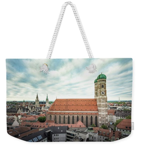 Munich - Frauenkirche Weekender Tote Bag