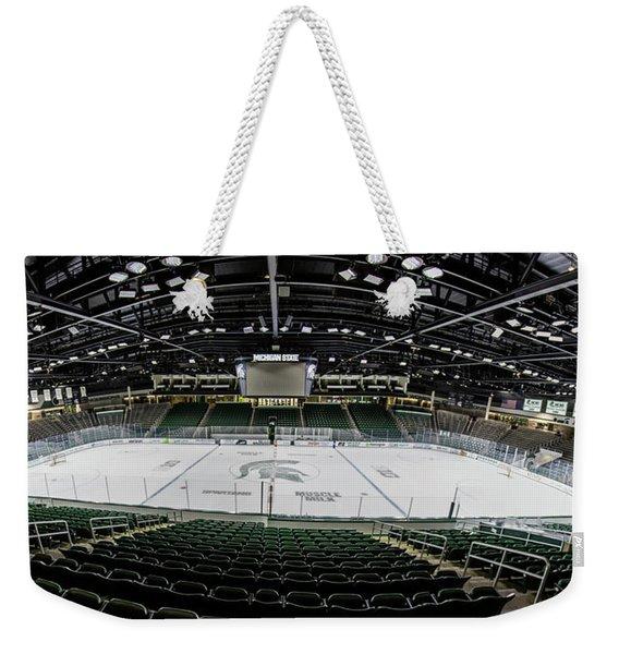 Munn Ice Arena  Weekender Tote Bag