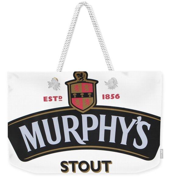 Murphys Irish Stout Weekender Tote Bag