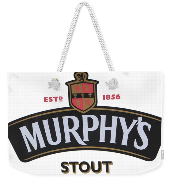 Murphys Irish Stout Weekender Tote Bag