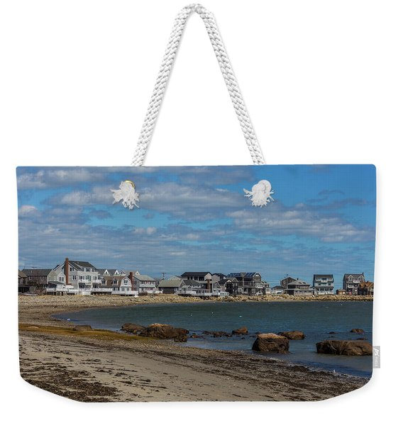 Museum Beach Scituate Massachusetts Weekender Tote Bag