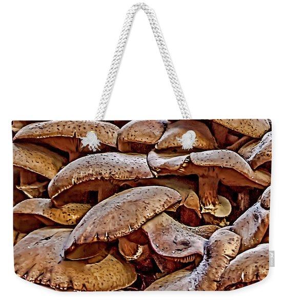 Mushroom Colony Weekender Tote Bag
