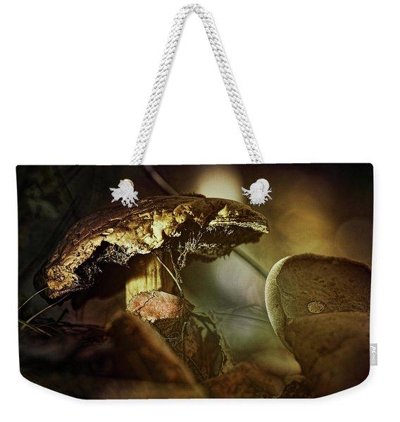 Mushroom Magic Weekender Tote Bag