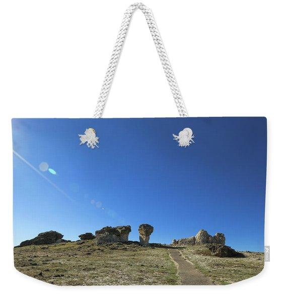 Mushroom Rocks Weekender Tote Bag