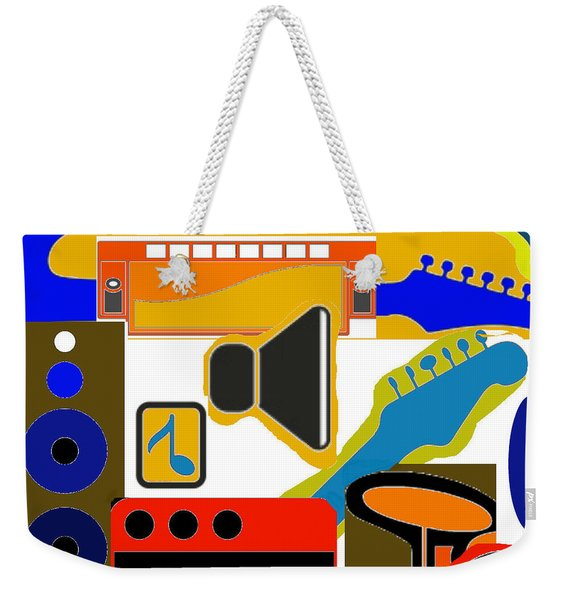 Music Collage Weekender Tote Bag