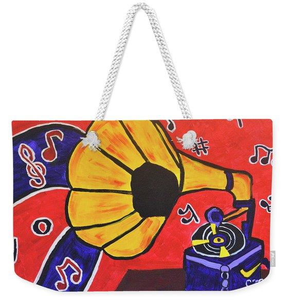 Music First Weekender Tote Bag