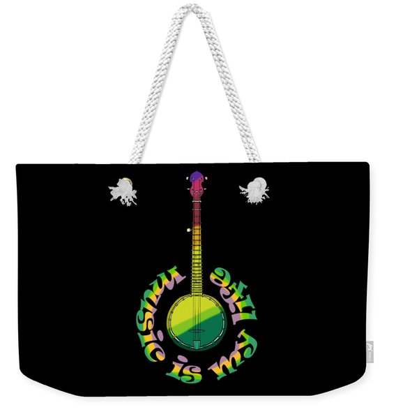Music Is My Life Weekender Tote Bag