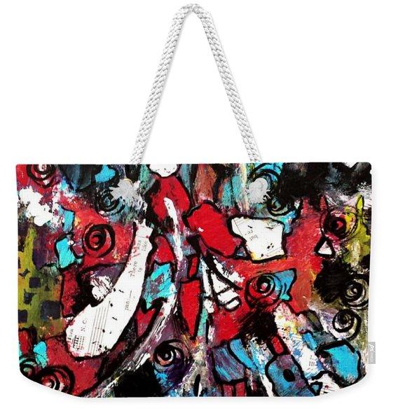 Musical Cacophony 1 Weekender Tote Bag