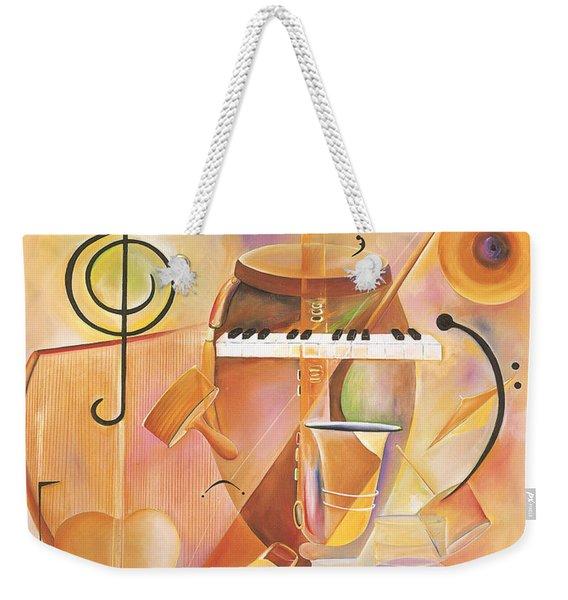 Musical Mix  Weekender Tote Bag